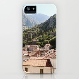 Morning in Montenegro iPhone Case