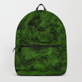 Abstract fresh green Backpack