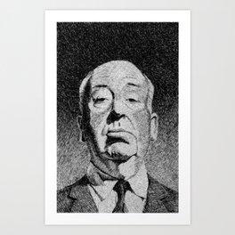 Fingerprint - Hitchcock Art Print