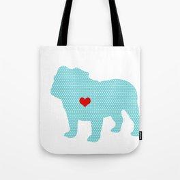 English Bull Dog Art Tote Bag