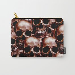 LG skull wall Carry-All Pouch