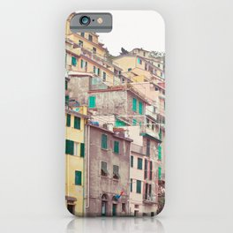 Cinque Terre - Italy Travel Photography iPhone Case