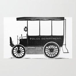 Police car Rug