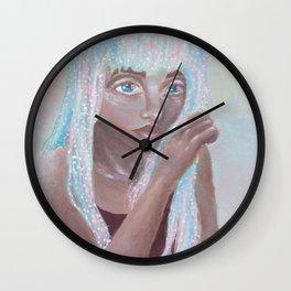 Opalescent Dream Wall Clock