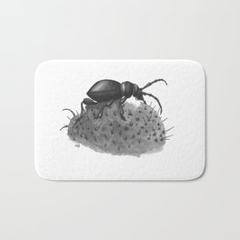 Inktobober 2016: Cactus Longhorn Beetle Bath Mat