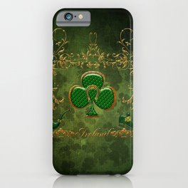 Happy st. patrick's day iPhone Case