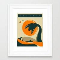 arrakis Framed Art Prints featuring ARRAKIS by Jazzberry Blue