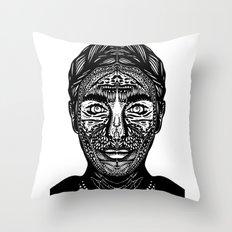 Mina Harker Throw Pillow