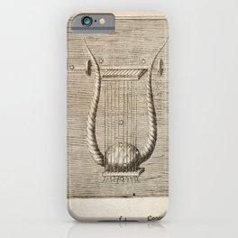 Hugo de Groot's Syntagma Arateorum 1600 - 20 Lyra iPhone Case