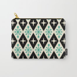 Mid Century Modern Atomic Triangle Pattern 122 Carry-All Pouch