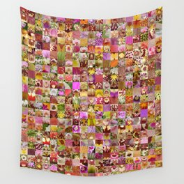 Orchid Montage Wall Tapestry
