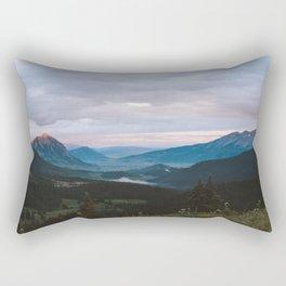 Sunset over Crested Butte Rectangular Pillow