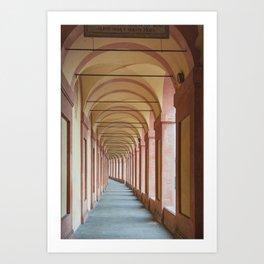 Portico Art Print