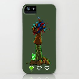 A Hero Revives iPhone Case