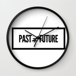 Past ≠ Future Wall Clock