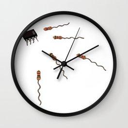 Computer conception Wall Clock