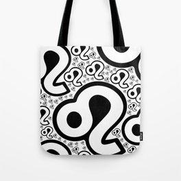 Virgo Zodiac Pattern Tote Bag