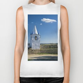 Arraiolos bell tower Biker Tank
