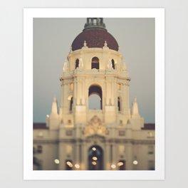 Pasadena City Hall Photograph, No.1 Art Print