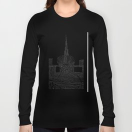 Dubai: Horro Vacui on an Urban Level Long Sleeve T-shirt