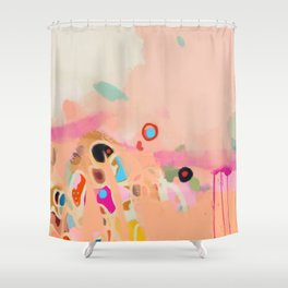 coral summer Shower Curtain