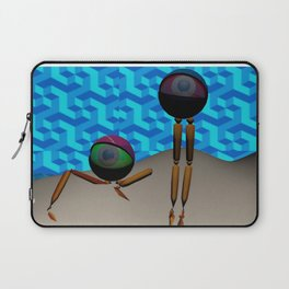 Two Eyes on an Island Laptop Sleeve
