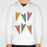 planes Hoodies featuring Paper Planes by coalotte