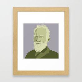 George Bernard Shaw Framed Art Print