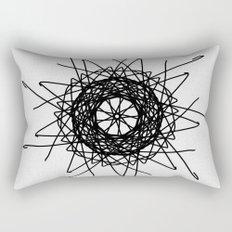 love mandala number 3 - bird's nest Rectangular Pillow