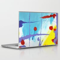 nicolas cage Laptop & iPad Skins featuring Cage by Ink and Paint Studio