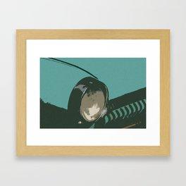 Pobeda element pop №3 Framed Art Print
