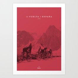 Vuelta España Art Print