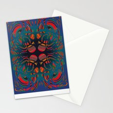 Stone spirals Stationery Cards