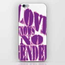 Love Knows No Gender! #2 iPhone Skin