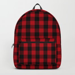 Buffalo Plaid Pattern Backpack