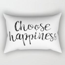 Choose Happiness Rectangular Pillow