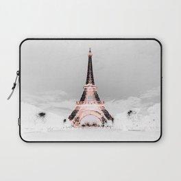pariS Black & White + Pink Laptop Sleeve
