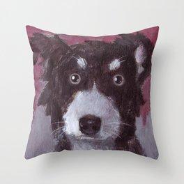 Po the Dog Throw Pillow