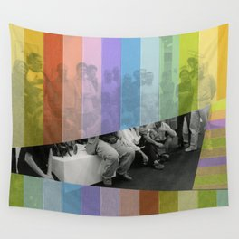 Kodachrome Reunion Wall Tapestry