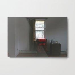 Sitting by the Window Metal Print