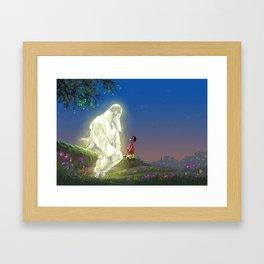 God In My Garden Framed Art Print
