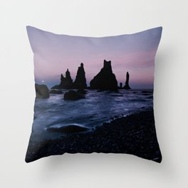 Reynisdrangar Throw Pillow