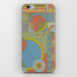 art and crafts circles iPhone Skin