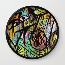 The Streets are ours Wall Clock