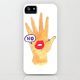 No! iPhone Case