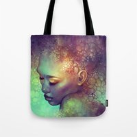 camouflage Tote Bags featuring Camouflage by Anna Dittmann
