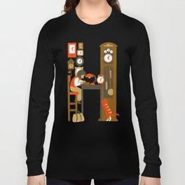 H as Horloger (Watchmaker) Long Sleeve T-shirt