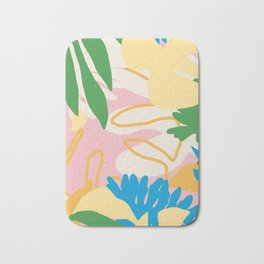 Floral Mix Bath Mat