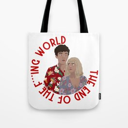 The ENd Of The F***ing World Tote Bag