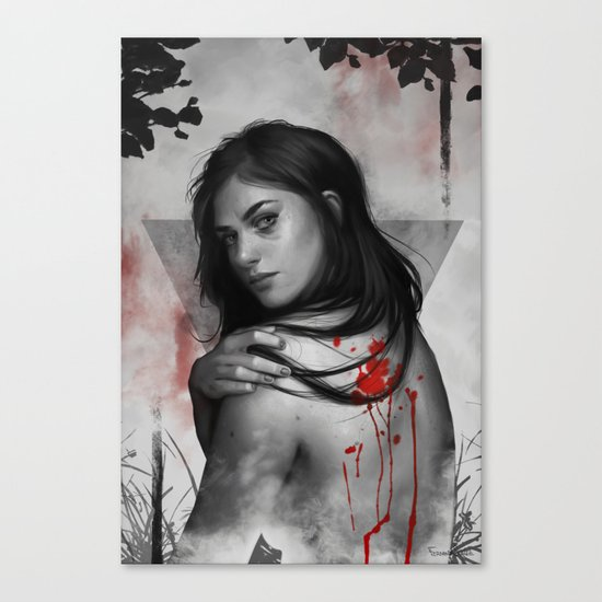 Bad blood Canvas Print